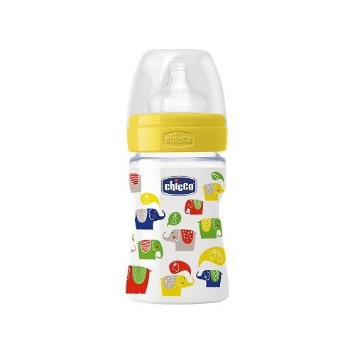 CHICCO BIBERON 150ML PP DECO1 TETTARELLA IN CAUCCIU'
