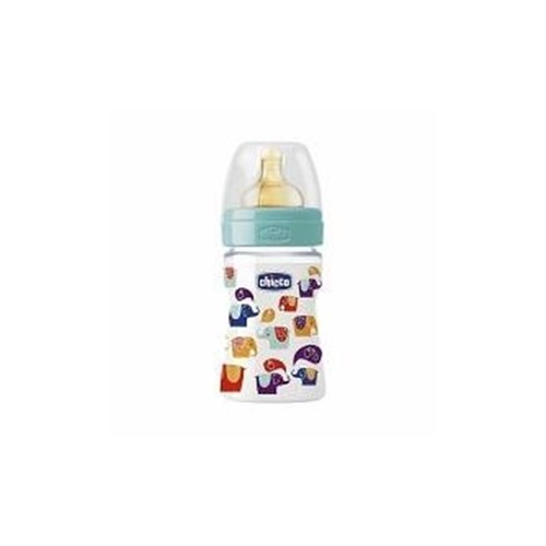 CHICCO BIBERON 150ML PP DECO2 TETTARELLA IN CAUCCIU'