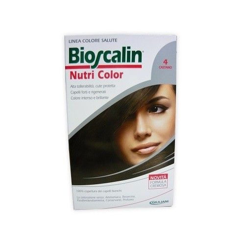 BIOSCALIN NUTRI COLOR 4 CASTANO SINCROB 124 ML