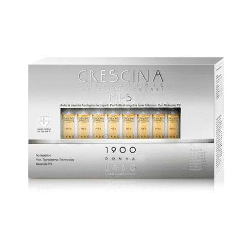 CRESCINA MPS TRANSDERMIC ISOLE FOLLICOLARI 1900 DONNA 40 FIALE