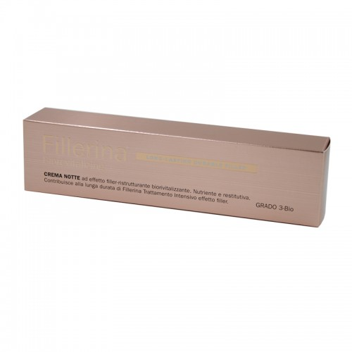 FILLERINA LONG LASTING DURABLE FILLER BIOREVITALIZING CREMA NOTTE GRADO 3