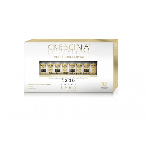 CRESCINA RI CRESCITA PLC12 BULGE STEM 1300 DONNA 20+20 FIALE 3,5 ML