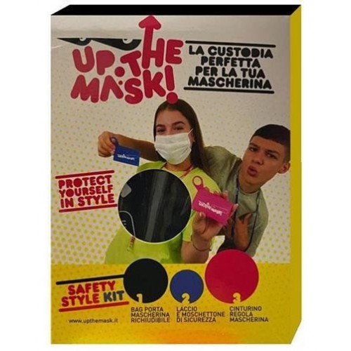 CUSTODIA MASCHERINA UP THE MASK KIT 1 PEZZO