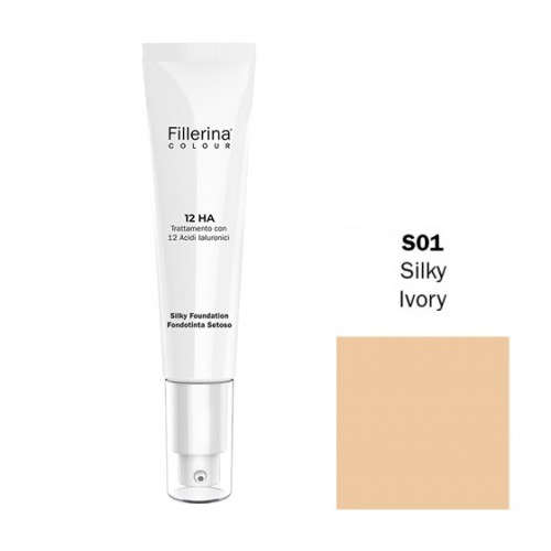 FILLERINA COLOUR 12HA FONDOTINTA SETOSO EFFETTO FILLER colore S01 30 ML