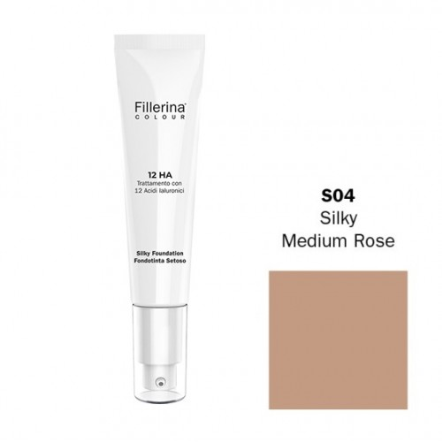 FILLERINA COLOUR 12HA FONDOTINTA SETOSO EFFETTO FILLER colore S04 30 ML