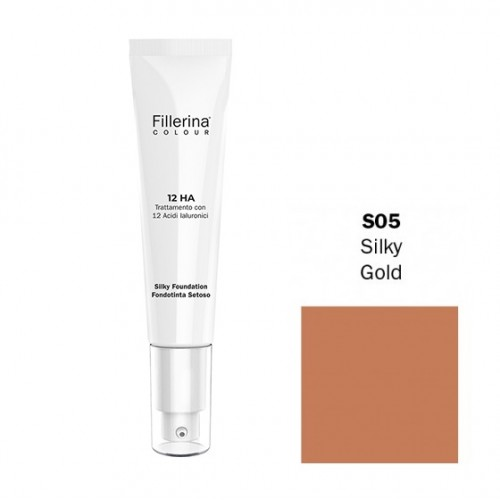 FILLERINA COLOUR 12HA FONDOTINTA SETOSO EFFETTO FILLER colore S05 30 ML