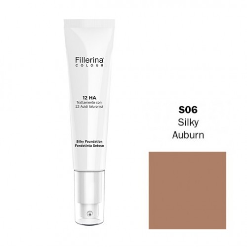 FILLERINA COLOUR 12HA FONDOTINTA SETOSO EFFETTO FILLER colore S06 30 ML